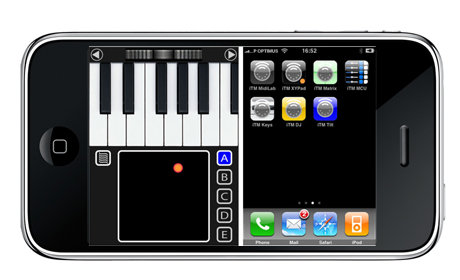 iTouch midi