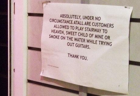 Stairway denied