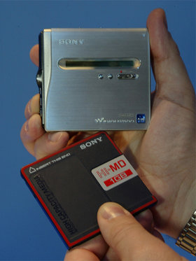 Sony minidisc walkman