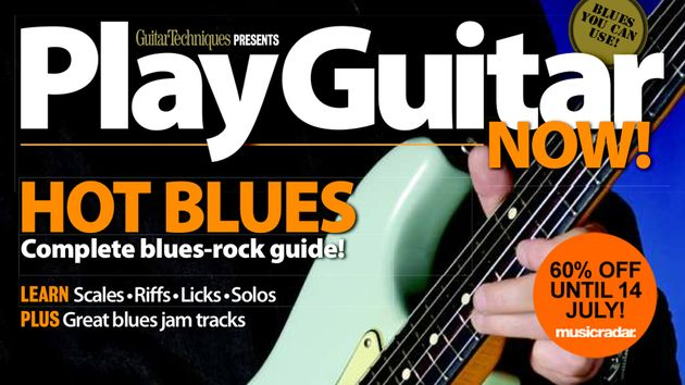 Get 60% off Play Guitar Now: Hot Blues until 14 July!