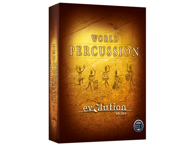 Best Service's vast World Percussion comes supplied on a USB drive.