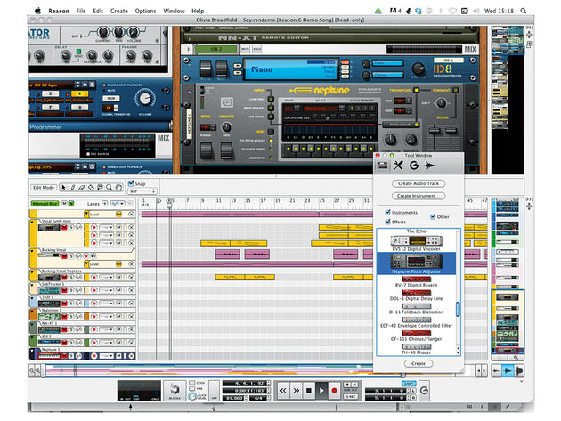 Propellerhead Software Reason 6 (£349)
