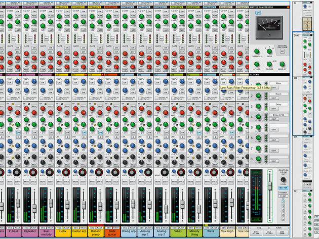 That famous SSL modelled mixer.