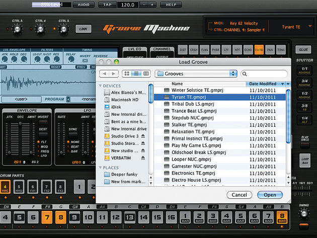Frustratingly, most of Groove Machine's preset grooves only showcase its limitations.
