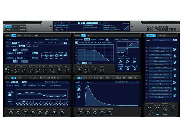 KV331 Audio SynthMaster 2.5 ($99)