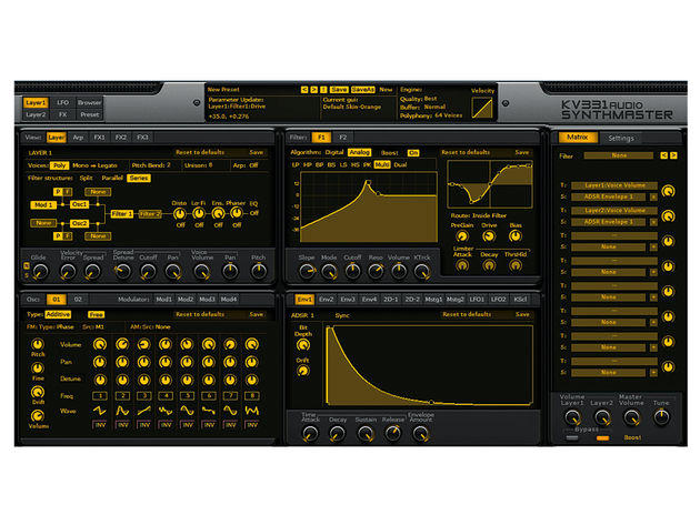 The filters are extremely flexible and include two new modes plus a distortion module.