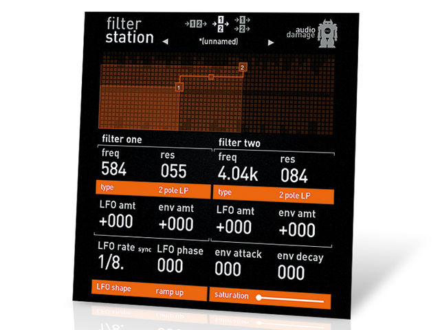 Audio Damage Filterstation ($49)