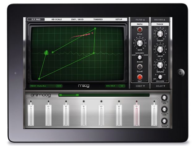 Moog Animoog/Animoog for iPhone, £20.99/£6.99