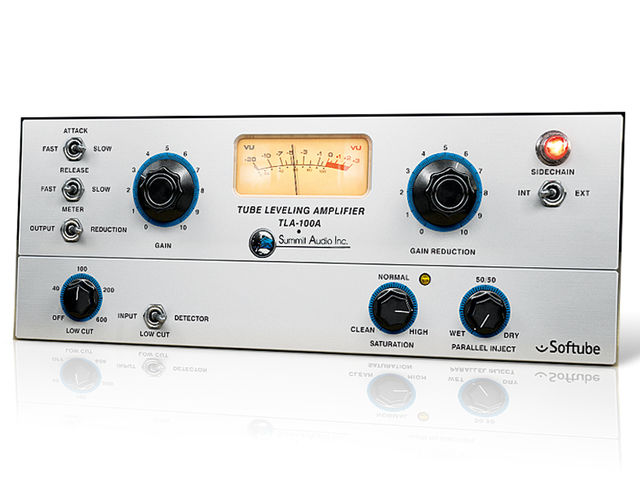 Even better than the real thing? Softube's TLA-100A emulation is superb.