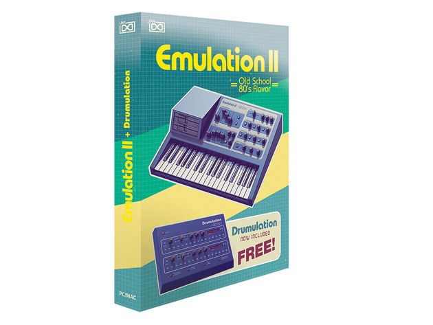 The excellent Emulation II brings together E-MU's Emulator sampler and Drumulator drum machine.