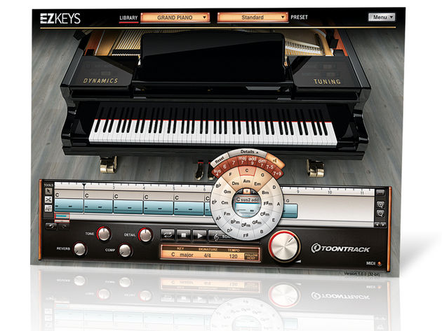 EZkeys Grand Piano is based on the revered Steinway Model D.