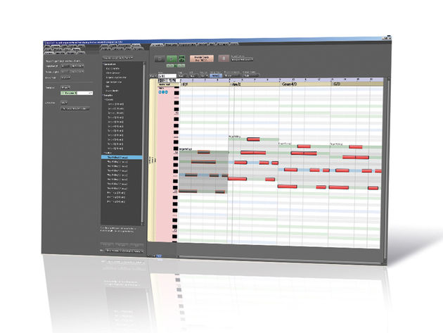 RapidComposer's workflow makes it ideal for tasks such as scoring.