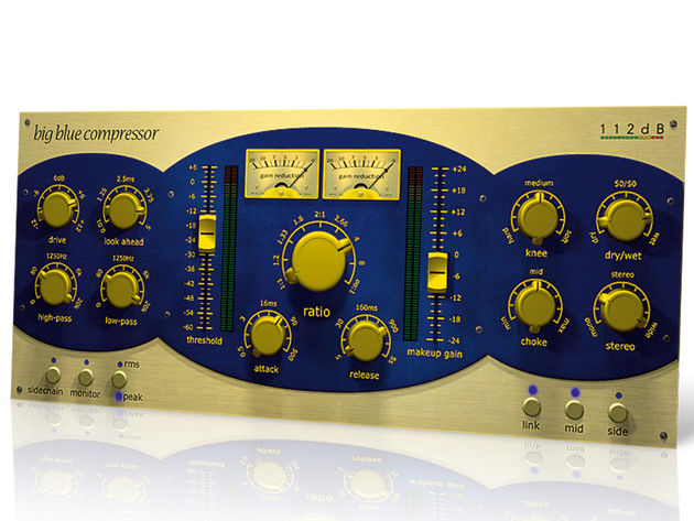 112dB's Big Blue Compressor offers far more than its hardware-based interface might initially suggest.