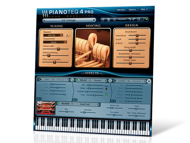 Modartt Pianoteq 4 Pro automatically captures your last 25 recorded sequences.