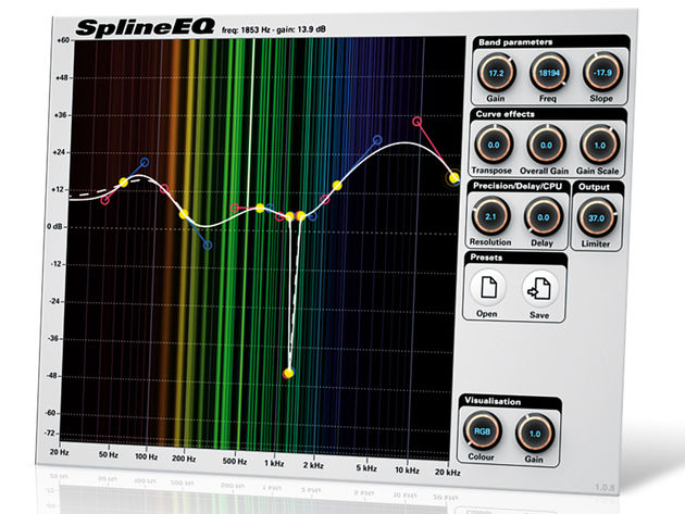 Photosounder SplineEQ ($19)