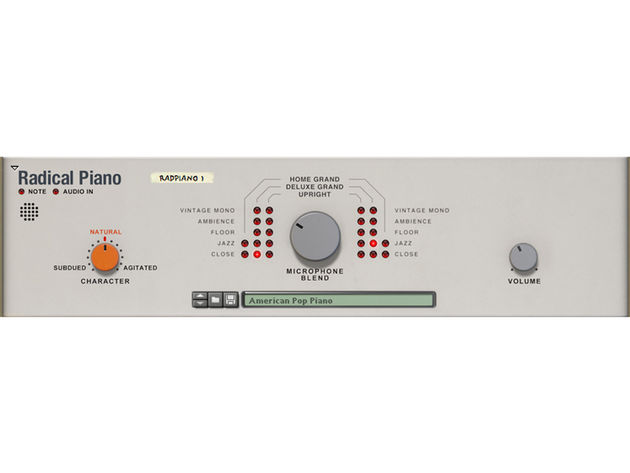 Propellerhead Radical Piano lives up to at least half its name - it's a decent enough piano.