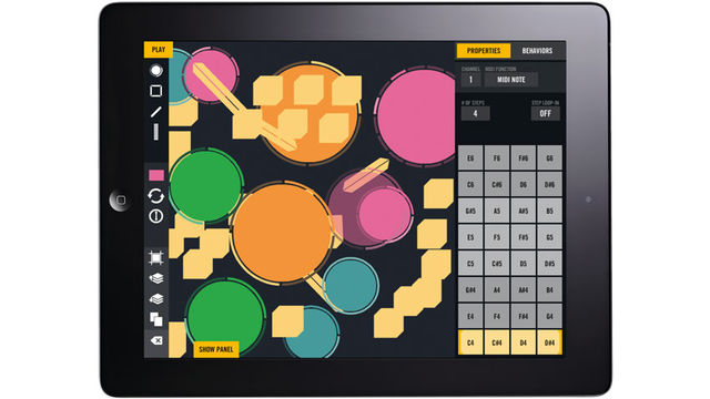 Create your own control surfaces by laying out and configuring Beatsurfing's Objects - Lines, Circles, Polygons and Faders