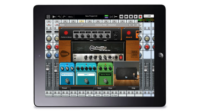 Auria is the real deal. If you want to record and mix audio on your iPad, it's well worth the price