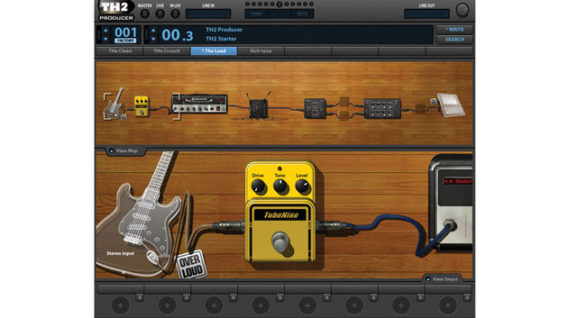 This time around, guitarists get the benefit of a cutdown edition of Overloud's TH2 plugin