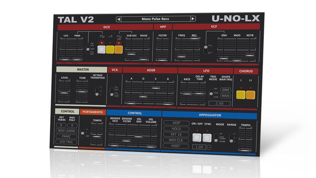TAL-U-NO-LX is a beefed up variation on the TAL-U-NO-62 - a lovingly realised clone of Roland's Juno-60