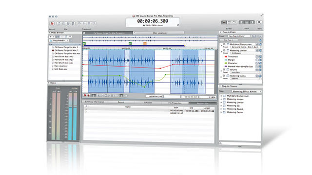 Sony Creative Software Sound Forge Pro Mac