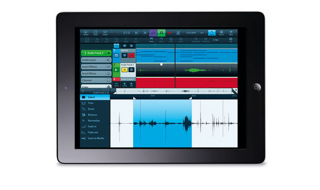 Cubasis captures the essence and spirit of Cubase in a multitouch MIDI/audio sequencer