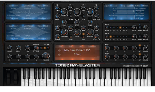RayBlaster requires a very different workflow, helping it to sound genuinely different