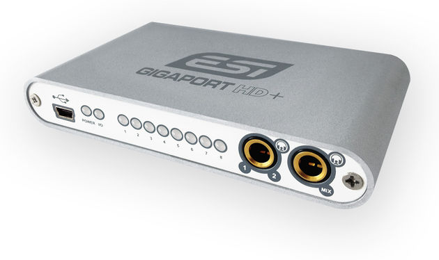 The compact Gigaport HD+ is well suited to digital DJs looking to connect to a hardware mixer