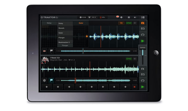 The main mixing interface is very well designed, utilising well-established gestures to make the most of your iPad's touchscreen
