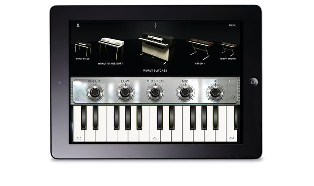 Sample-based Fender Rhodes, Wurlitzer and Clavinet instruments are all present and correct