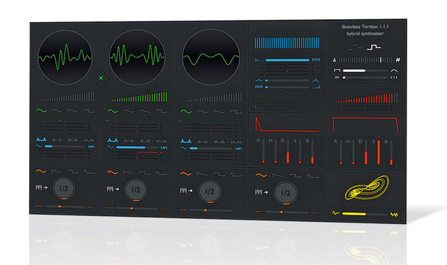 Despite it's simple looks, Torsion has more going for it than the average virtual analog synth