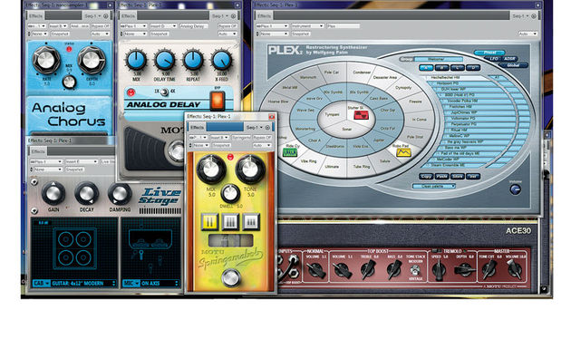 What it lacks in virtual instruments, DP8 more than makes up for in effects capability