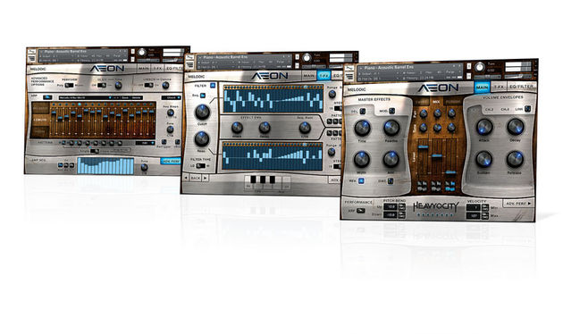 Aeon comprises two Kontakt instruments, Melodic and Rhythmic, also available separately
