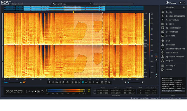 The spectrogram is scary-looking but incredibly powerful and intuitive once you get going