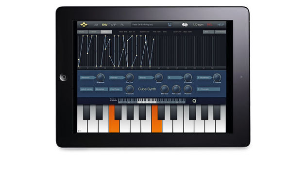 Cube Synth for iPad is a powerful app - one capable of rivalling the likes of Animoog and Nave