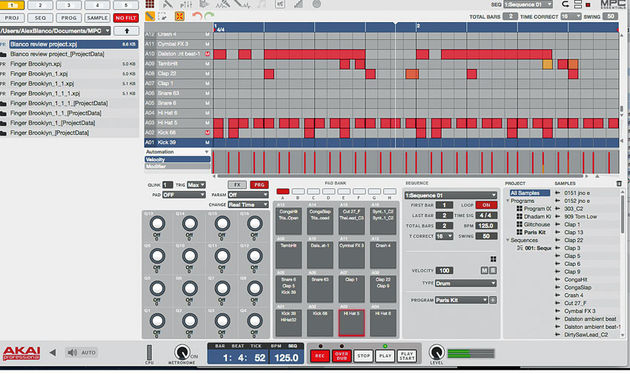 Edit samples, sequence, process, mix and arrange using the MPC Essentials standalone application