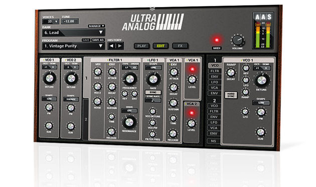 Great care has been given to revamping the interface for Ultra Analog VA-2