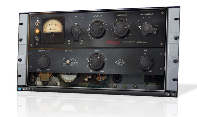 Universal Audio Fairchild Tube Limiter Plug-in Collection
