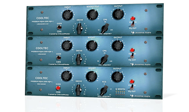 Acustica Audio Cooltec EQP1 Program Equalizer Suite