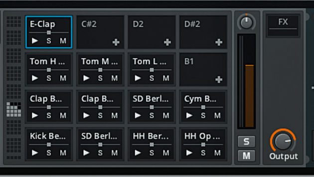 The multi-instrument Drum Machine is one of several devices with an obvious Ableton counterpart.