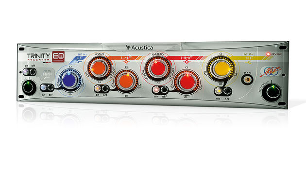 Acustica Audio won't specify the module the Trinity EQ is based on - our money is on a Trident or Neve unit