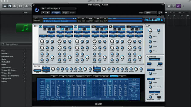Blue II sees the introduction of flexible wavesequencing to a sequencer that was superb even to begin with