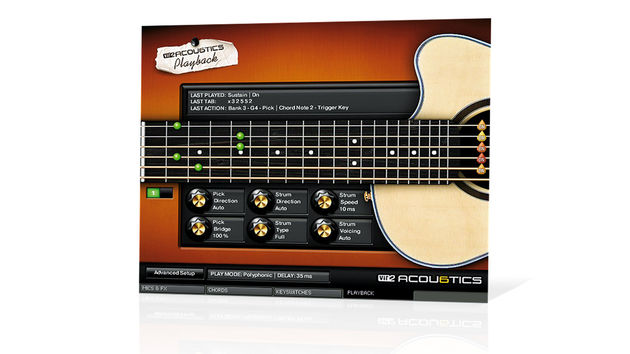 There six acoustic instruments on offer - from steel-strings to mandolins