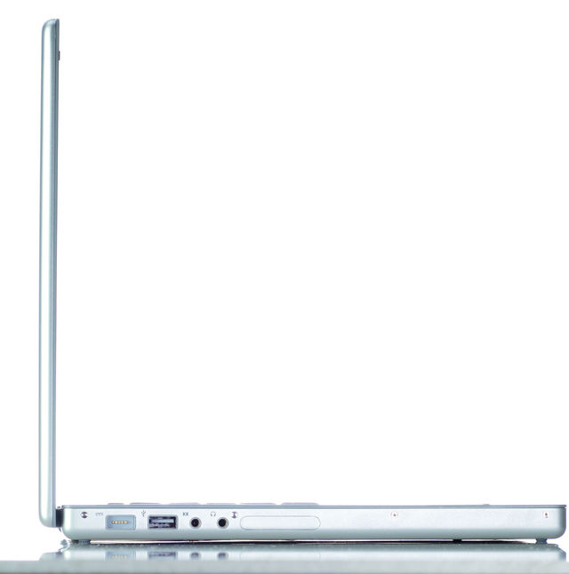 The MacBook Pro has a much slimmer profile than its predecessors