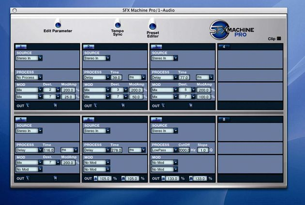 The Preset Editor gives you total control.