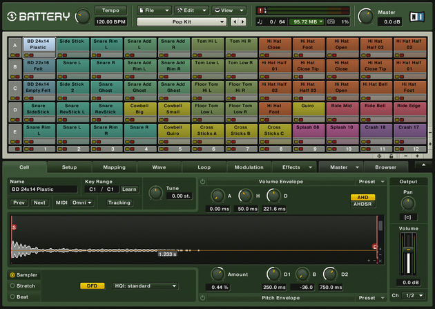 A drum sampler - such as Battery 3 - could be a good investment.