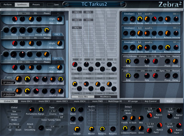 Zebra 2 is a powerful soft synth with impressive capabilities