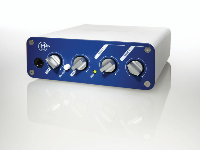 The Mbox 2 Mini respresents an affordable route into the world of Pro Tools.