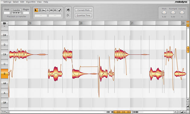 It's easy to get great results with Melodyne Plugin.