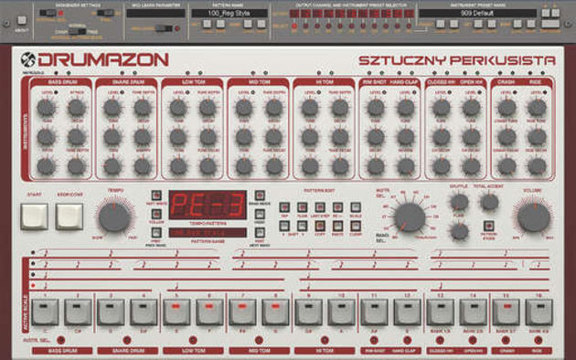 Drumazon: more than just a 909 clone